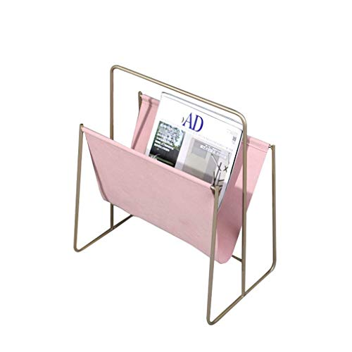 Xinxinchaoshi-Bücherrega le Bücherregal Standregal Leder Magazine Rack Wohnzimmer Schlafzimmer Desktop Storage Korb, Home Storage Rack-Schränke for die Bücher Bücherschrank (Color : A)