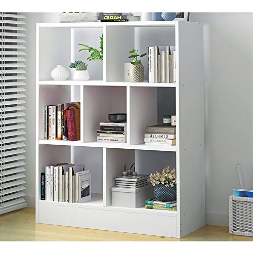 HJFSHUJ Massivholz Bücherregal, Multifunktionsspeicher Wohnzimmer Schlafzimmer Arbeitszimmer Raum Bücherregal Kombination (Color : Light Walnut, Size : 50x24x80cm)