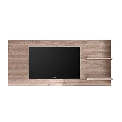 trendteam smart living 141648595 Wandpaneel Elements mit Korpus und Front in eiche san remo dunkel Nachbildung , Absetzungenn in schiefer schwarz Tiefziehung  199 x 89 x 20 cm